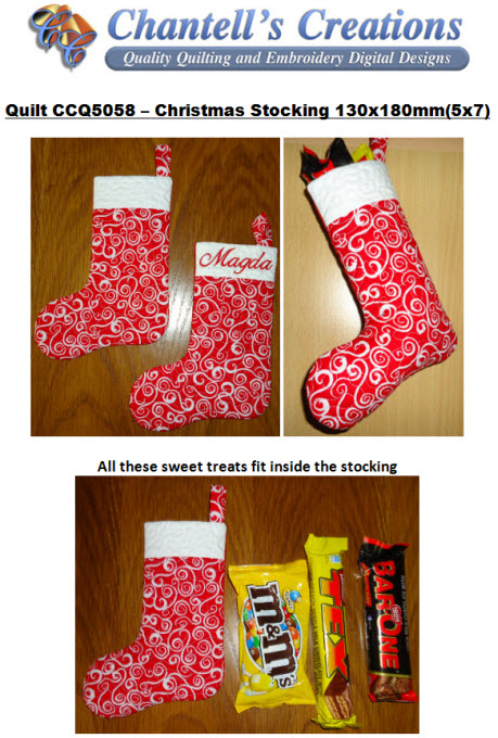 christmas stocking details
