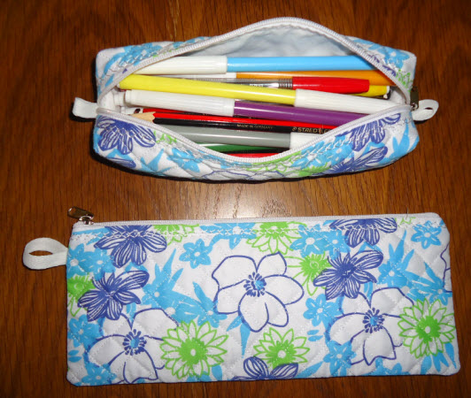 zipper fun box bag