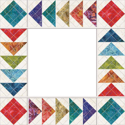 5 flying geese and more quilt set