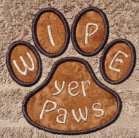 paws applique