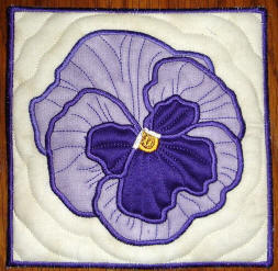 pansy square